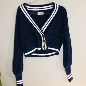 Urban Outfiters Royal Blue Cardigan
